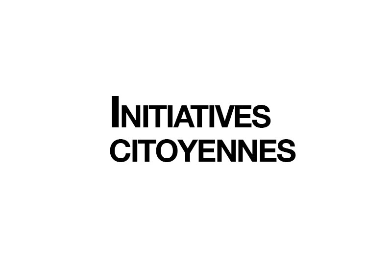 Initiatives citoyennes